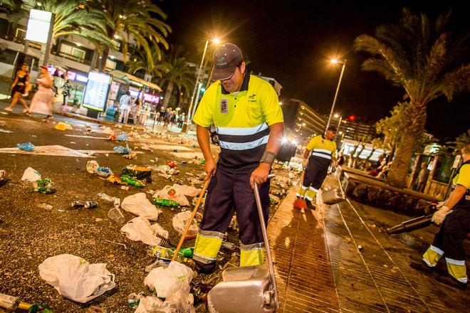 El Carnaval Internacional de Maspalomas generó 143 toneladas de residuos