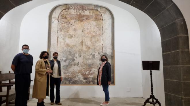 La Palma abre las puertas de la capilla del Cristo de la Portería