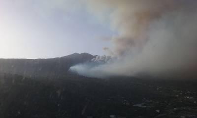 El Gobierno confirma la desaparición de un agente forestal en el incendio de La Palma