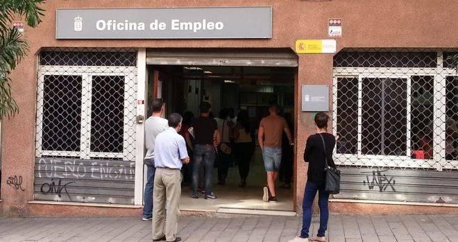 El paro sube en Canarias en 788 personas en octubre