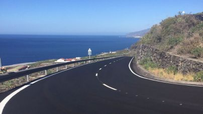 Concluye la repavimentación de la carretera de Las Indias