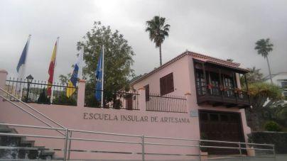 El Cabildo mejora las instalaciones de la Escuela Insular de Artesanía