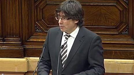 Puigdemont se compromete con la independencia
