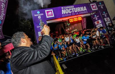 Jonay González y Victoria Hernández, ganadores de la VI Carrera Nocturna