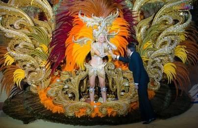 """Judit López García, Reina del Carnaval con la fantasía """"Madame Soleil"""""""