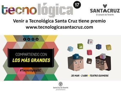 Tecnológica Santa Cruz repartirá más de 7.000 euros en premios