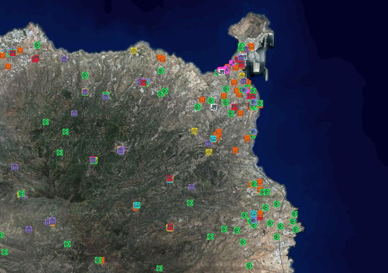 El SITCAN actualiza el servicio de mapa de espacios culturales de Canarias