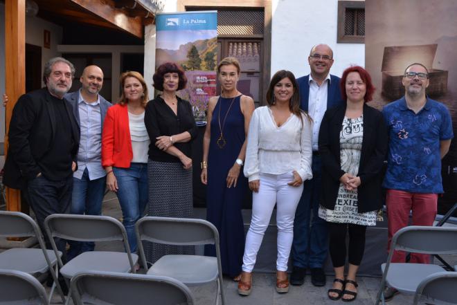 isLABentura presenta siete proyectos de guión de películas y series ambientadas en La Palma