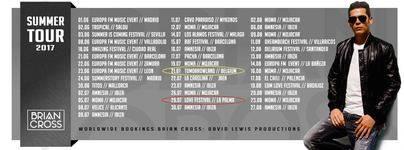 Brian Cross pondrá el broche de oro al Love Music Festival en La Palma
