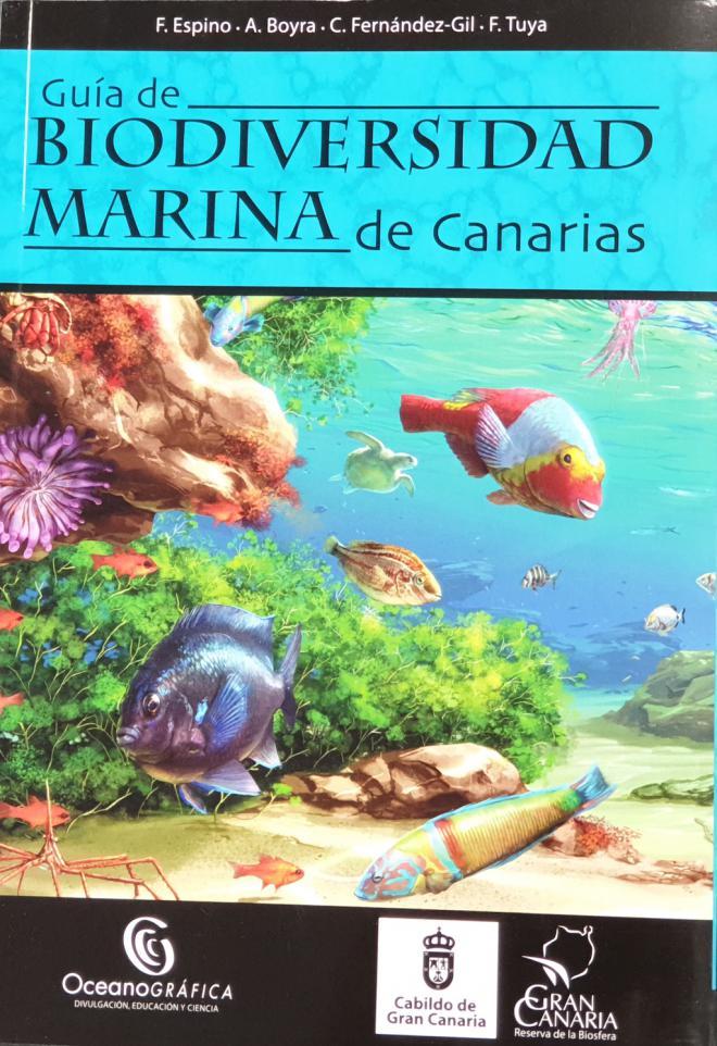 Guía de Biodiversidad Marina de Canarias con más de 460 especies del litoral isleño