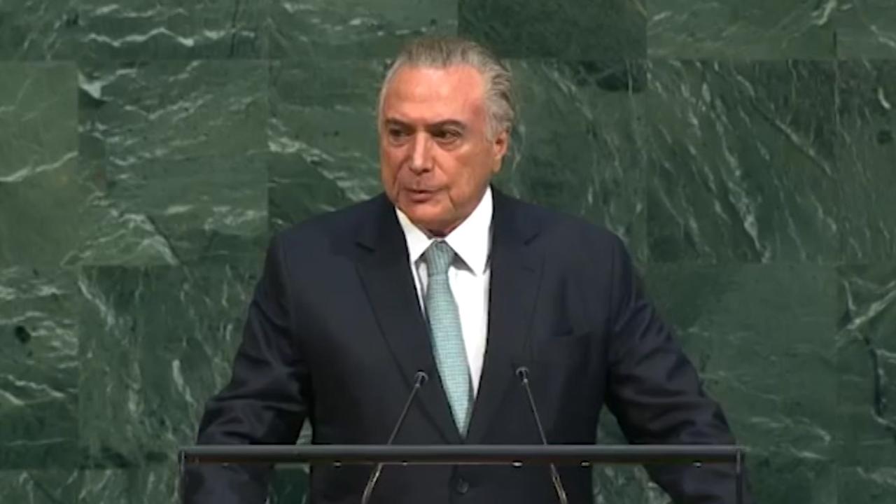 Detenido el ex presidente brasileño Michel Temer por corrupción