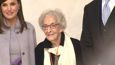 Ida Vitale recibe el Premio Cervantes por su obra poética