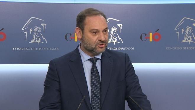 Ábalos recuerda que 'no hay alternativa' a una investidura de Sánchez