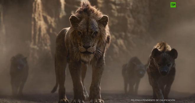 El remake de 'El rey león' rompe récords de taquilla