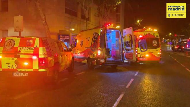 Un herido grave por arma de fuego y tres apuñalados en Vallecas
