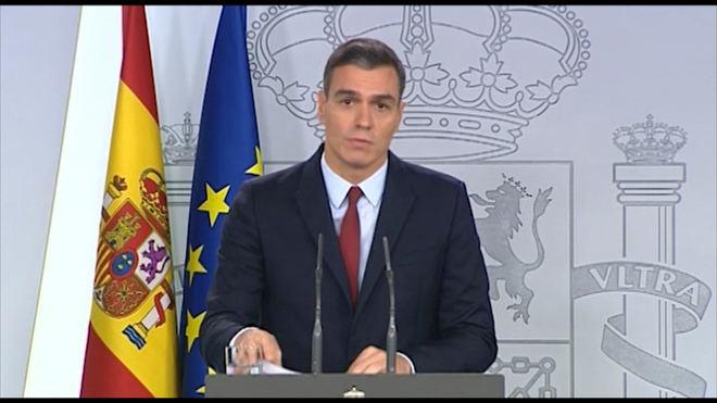 Sánchez sobre la exhumación de Franco: 'España cumple consigo misma'