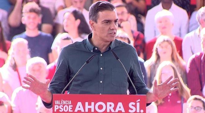 Sánchez apela al voto útil: PSOE 'contra el bloqueo de todos'