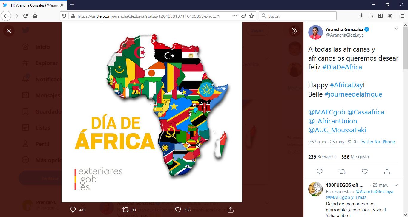 Pedro Quevedo requiere a la ministra de Exteriores por su inhibición de la cuestión del Sáhara Occidental