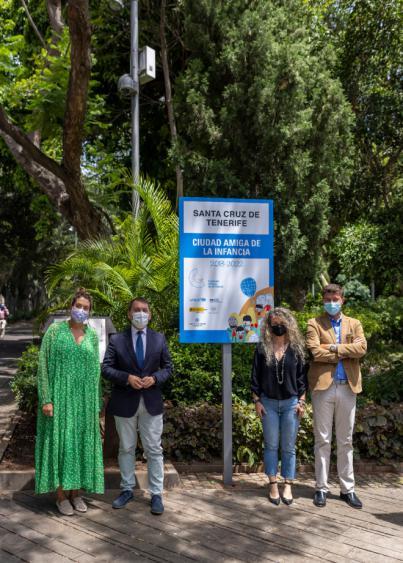 Santa Cruz da a conocer a la ciudadanía su compromiso de Ciudad Amiga de la Infancia