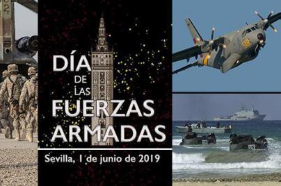 Sevilla acogerá el 1 de junio el desfile del Día de las Fuerzas Armadas