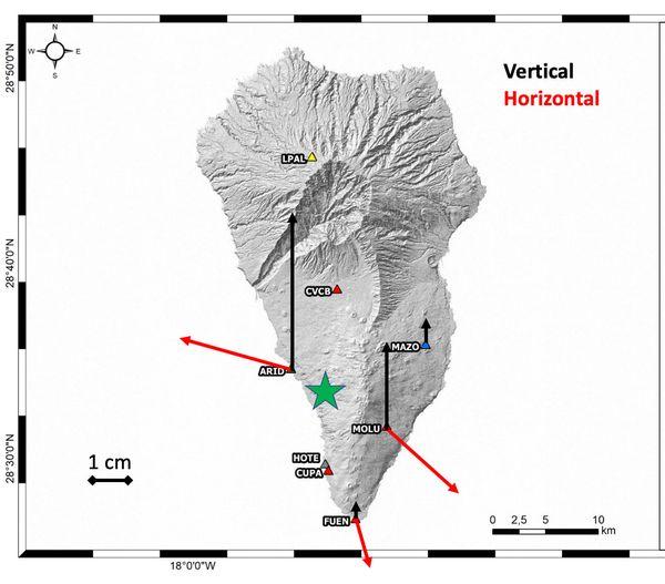 INVOLCAN registra en los últimos días una significativa deformación del terreno