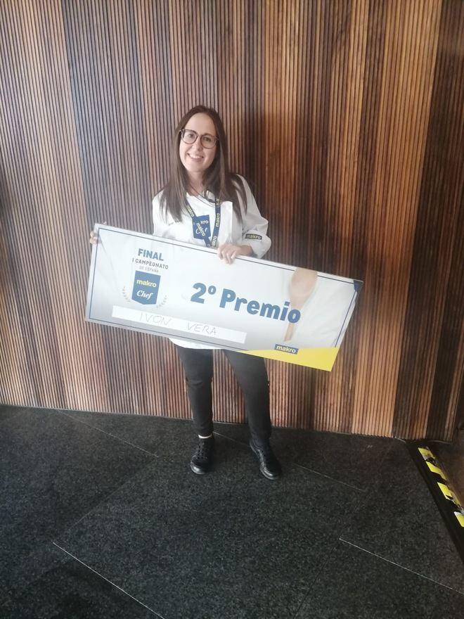 Una alumna de Hecansa obtiene el segundo puesto en el concurso nacional 'Makro Chef España 2019'