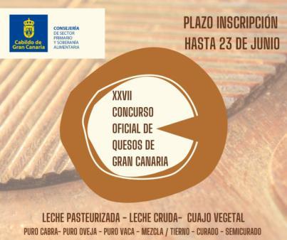 Concurso Oficial de Quesos de Gran Canaria 2020 con 18.900 euros en premios para los mejores