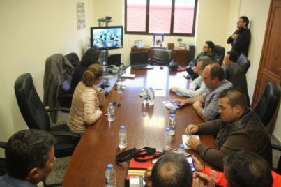 El Pecmar decide tomar medidas de contención ante el hundimiento de la gabarra