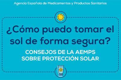 La Agencia Española de Medicamentos y Productos Sanitarios recuerda cómo tomar el sol de forma segura