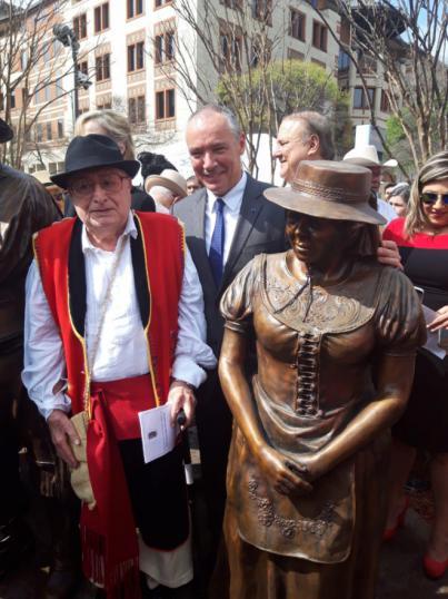 Canarias participa en el homenaje a los isleños que fundaron San Antonio