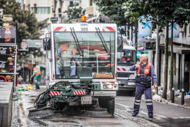 Los ciudadanos de Santa Cruz de Tenerife tolerantes con los servicios públicos municipales