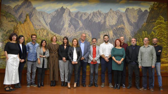 Los guionistas de isLABentura comienzan a desarrollar y documentar sus historias de La Palma