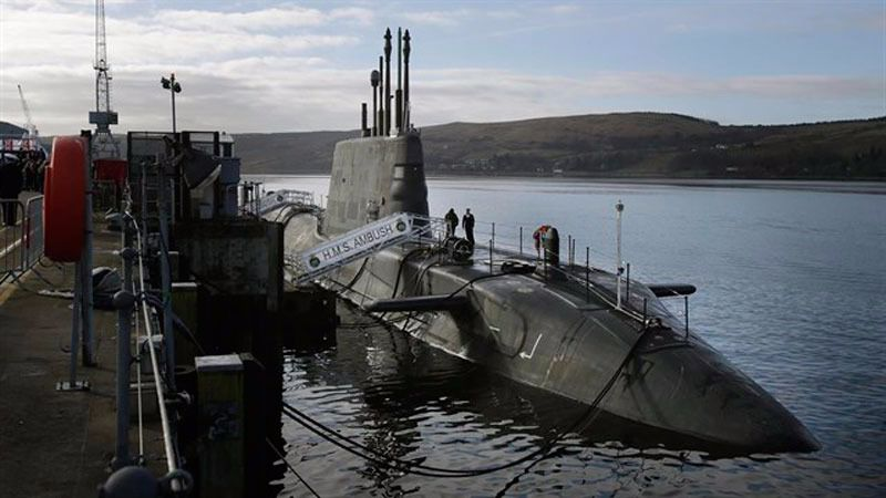 Un submarino nuclear británico colisiona en la costa de Gibraltar