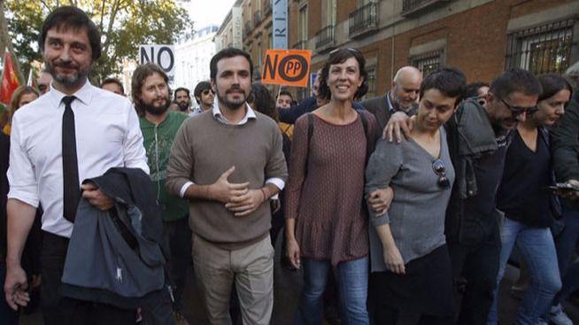 Garzón, Monedero y Mayoral participan en Rodea el Congreso