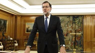 Mariano Rajoy en la jura