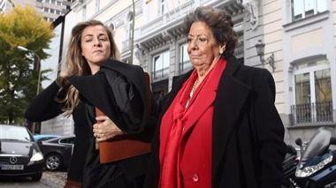 Barberá admite haber donado 1.000 euros al PP