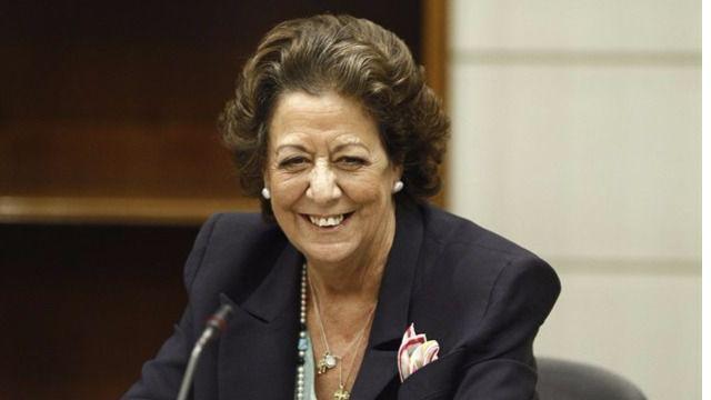 Imagen de Rita Barberá en el Senado