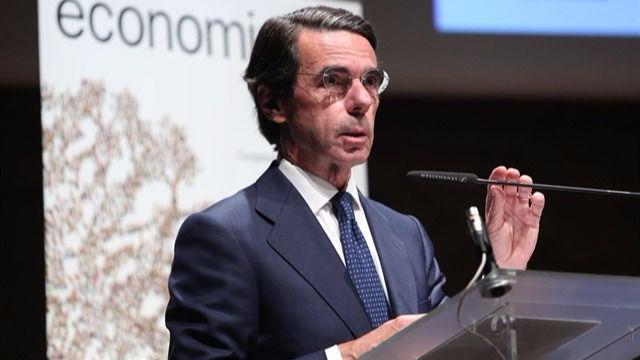 Aznar renuncia a ser presidente de honor del PP