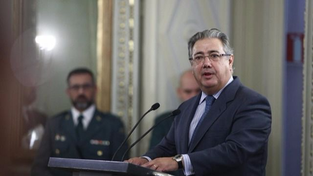Imagen del ministro de Interior, Juan Ignacio Zoido