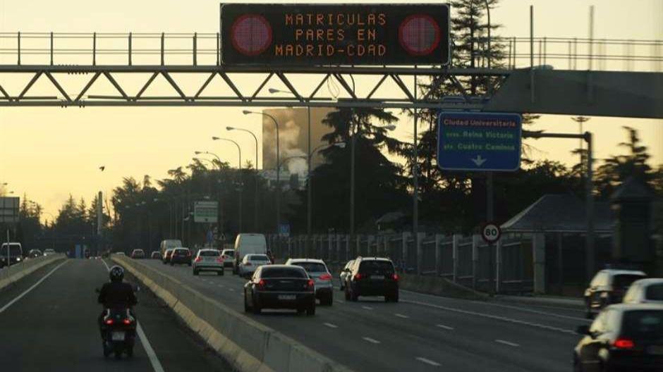 Madrid vuelve a prohibir el aparcamiento en Año Nuevo