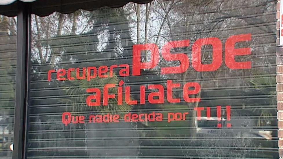'Recupera PSOE' decide quitar la palabra PSOE de su imagen corporativa