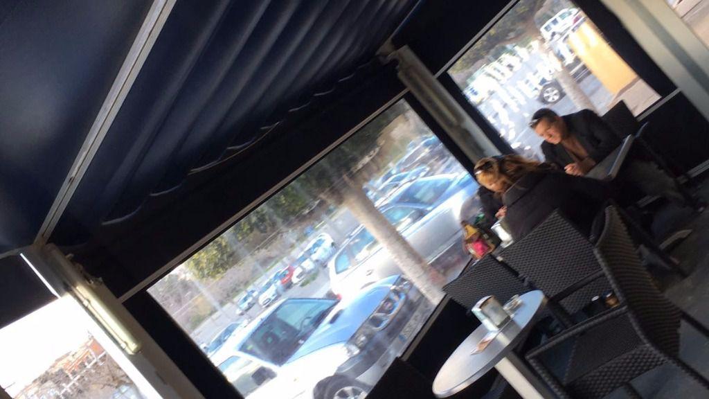 Se la ha visto en una cafetería de Sa cabaneta