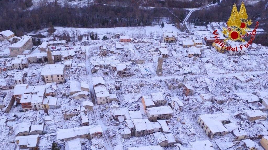 Un terremoto de magnitud 5,3 sacude el centro de Italia