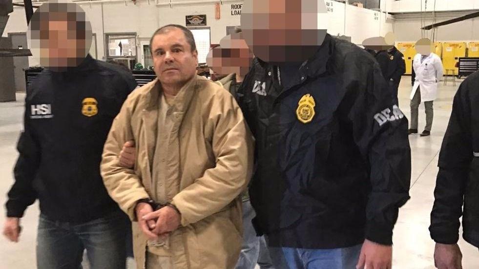 'El Chapo' comparece ante la Justicia estadounidense