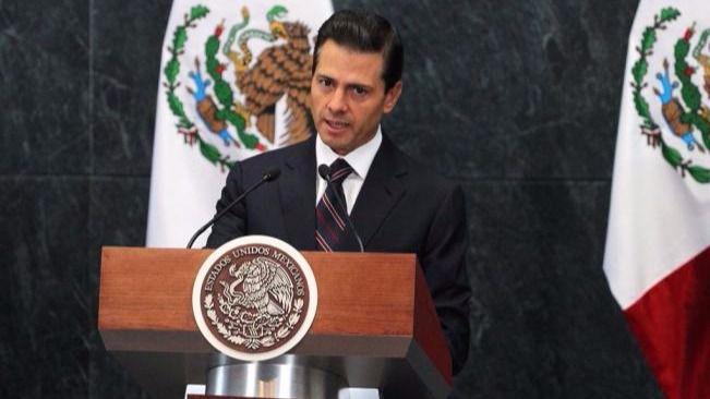 Peña Nieto planta a Trump
