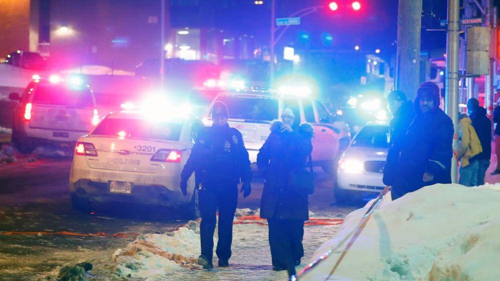 6 muertos en un tiroteo en una mezquita de Quebec