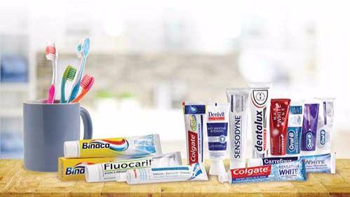 Algunos dentífricos estudiados