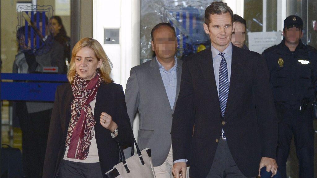 Manos Limpias pide 8 años para la infanta y Fiscalía, 16 para Urdangarín