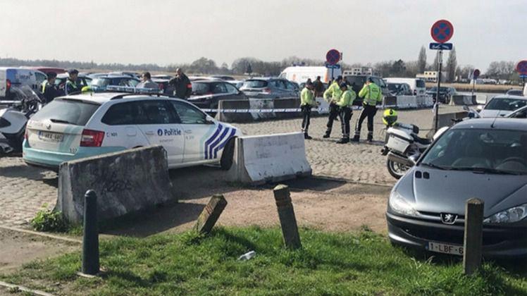 Detenido tras intentar arrollar a una multitud en Amberes