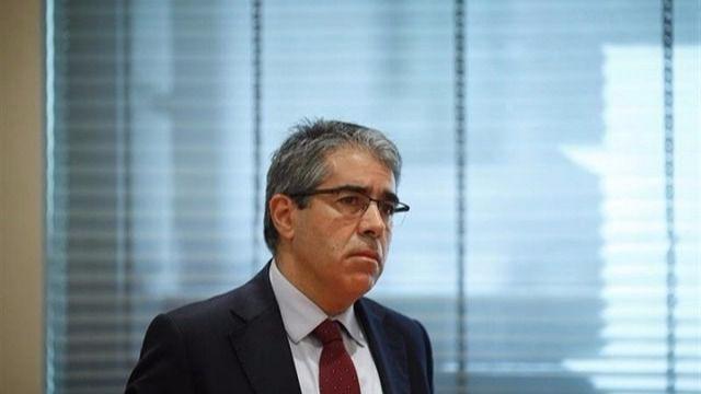 Homs recibe formalmente en el Congreso su condena de inhabilitación